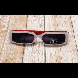 Vintage retro sunglasses Diane Von Furstenberg